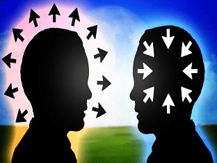 Интроверты и экстраверты - два типа личности