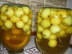 Как закрыть компот на зиму из яблок?
