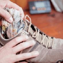 Как быстро высушить обувь: интересные идеи и рекомендации?