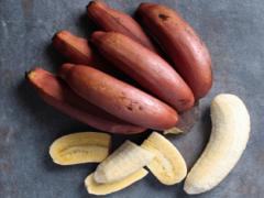 Полезные свойства красных бананов