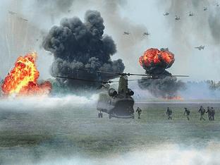 Видеть во сне войну — значения снов