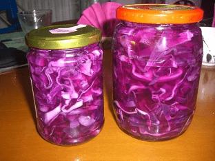 Капуста красная (маринованная) рецепт
