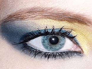 Тени для голубых глаз, какие выбрать