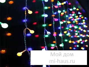 Как устроить новогоднюю иллюминацию на участке?
