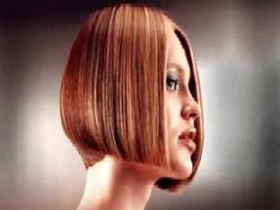 Каре на средние волосы