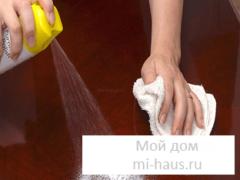 Как ухаживать за домашней мебелью?