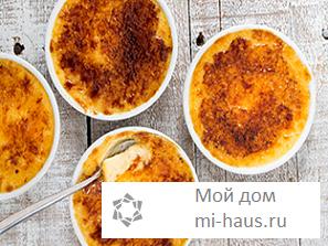 Как приготовить медовое крем-брюле?