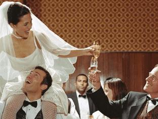 Тосты на свадьбу на все случаи жизни