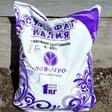 Удобрение Сульфат калия: применение на огороде, состав