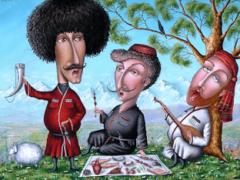 Кавказские тосты на разные случаи жизни